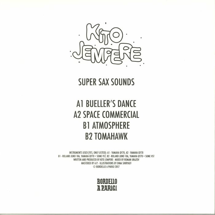 JEMPERE, Kito - Super Sax Sounds