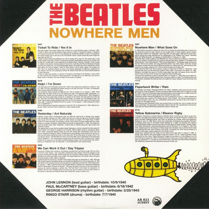 BEATLES, The - Nowhere Men