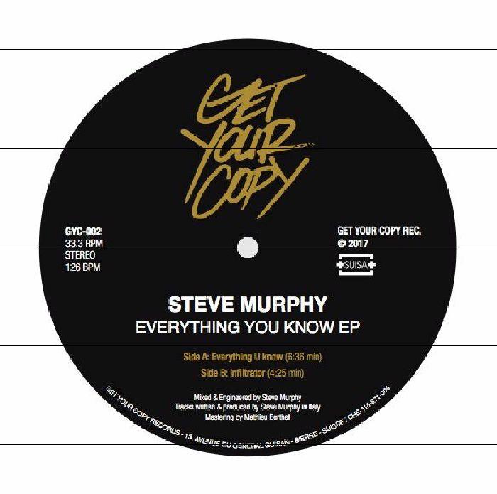 MURPHY, Steve - Everything U Know