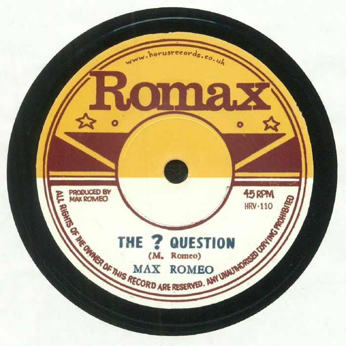ROMEO, Max - The ? Question