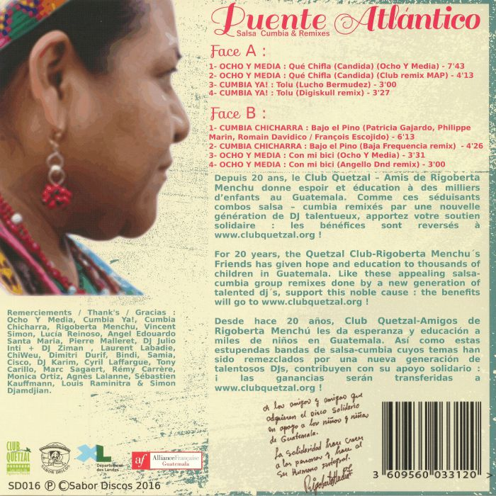 VARIOUS - Puente Atlantico: Salsa Cumbia & Remixes