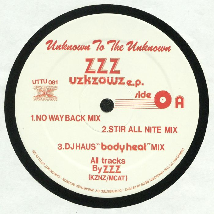 DJ NOZAKI presents ZZZ - Uzkzowz EP