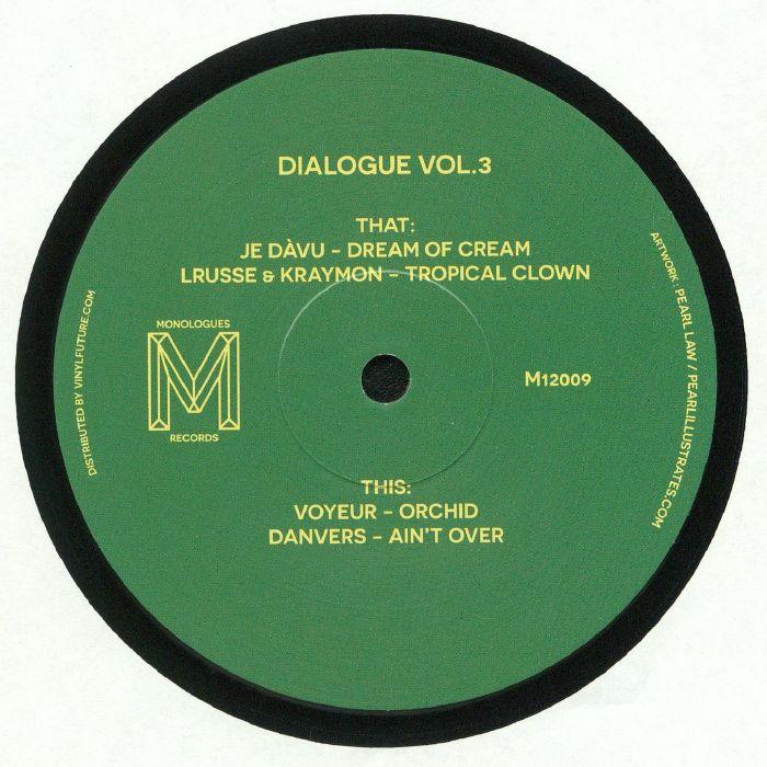 JE DAVU/LRUSSE/KRAYMON/VOYEUR/DANVERS - Dialogue Vol 3