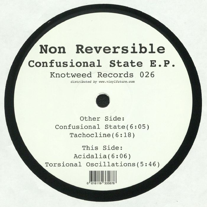 NON REVERSIBLE - Confusional State EP