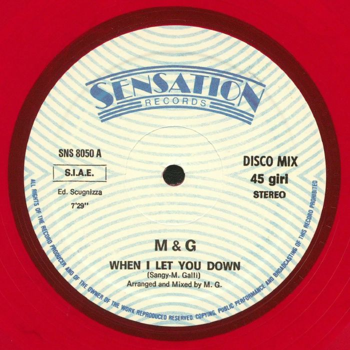 M & G - When I Let You Down (reissue)