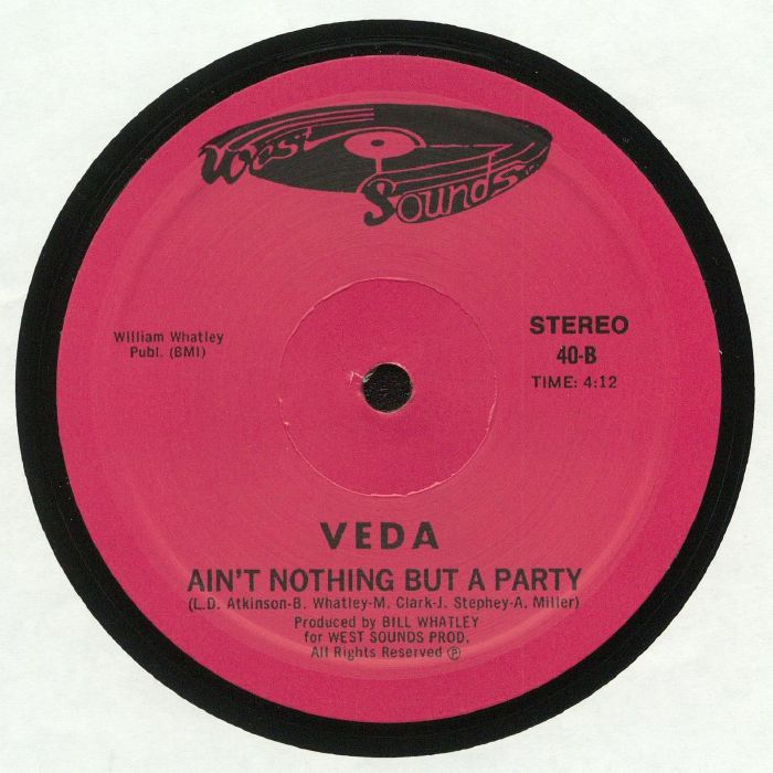 VEDA - What It's All About (reissue)