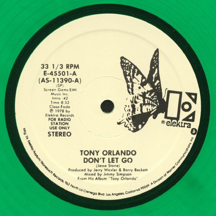 ORLANDO, Tony - Don't Let Go (reissue)