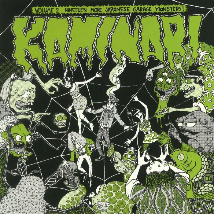 VARIOUS - Kaminari Vol 2: 19 More Japanese Garage Monsters