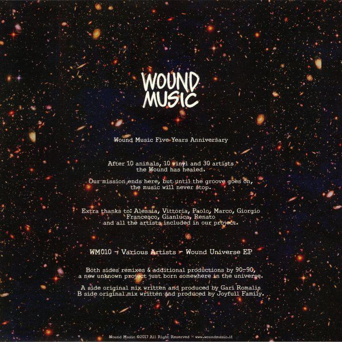 ROMALIS, Gari/JOYFULL FAMILY - Wound Universe EP