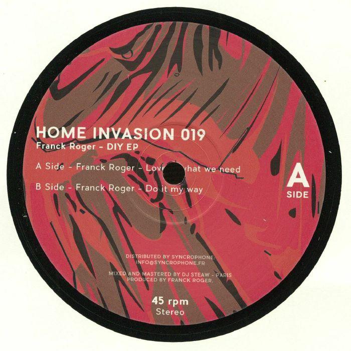 Franck ROGER DIY EP vinyl at Juno Records