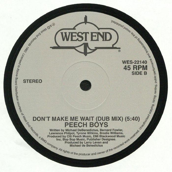 PEECH BOYS - Don't Make Me Wait (reissue)