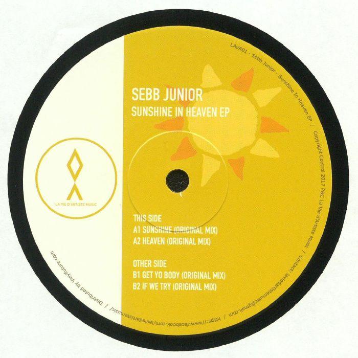 SEBB JUNIOR - Sunshine In Heaven EP