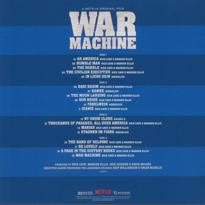 CAVE, Nick/WARREN ELLIS/VARIOUS - War Machine (Soundtrack)