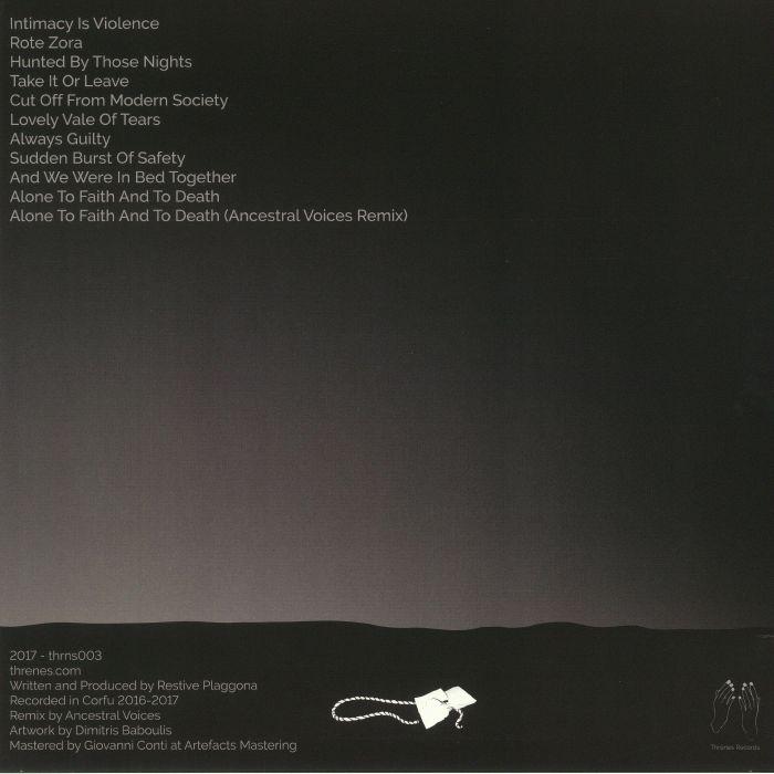 RESTIVE PLAGGONA - Silently Hopelessly