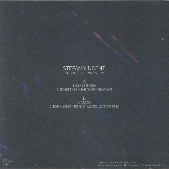 VINCENT, Stefan - The Spaces Between Time