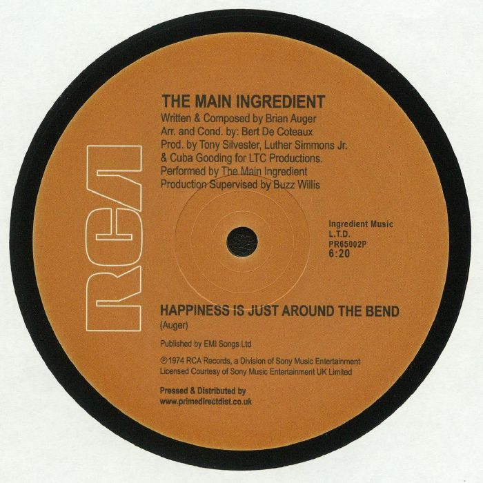 MAIN INGREDIENT, The - Happiness Is Just Around The Bend