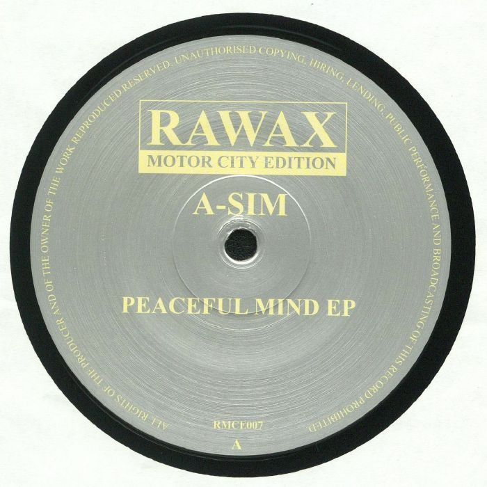 A SIM - Peaceful Mind EP