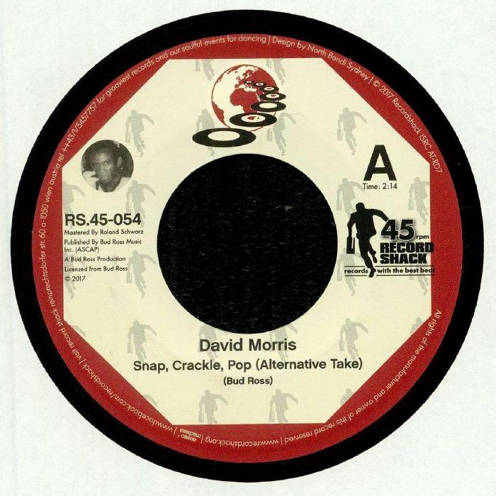 MORRIS, David/JAMES TINDAL - Snap Crackle Pop