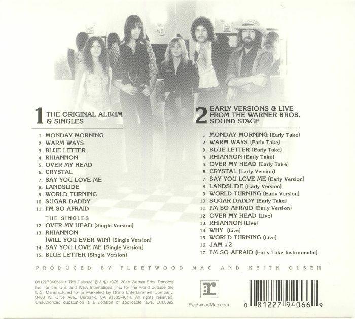 FLEETWOOD MAC - Fleetwood Mac (Expanded Edition) (reissue)
