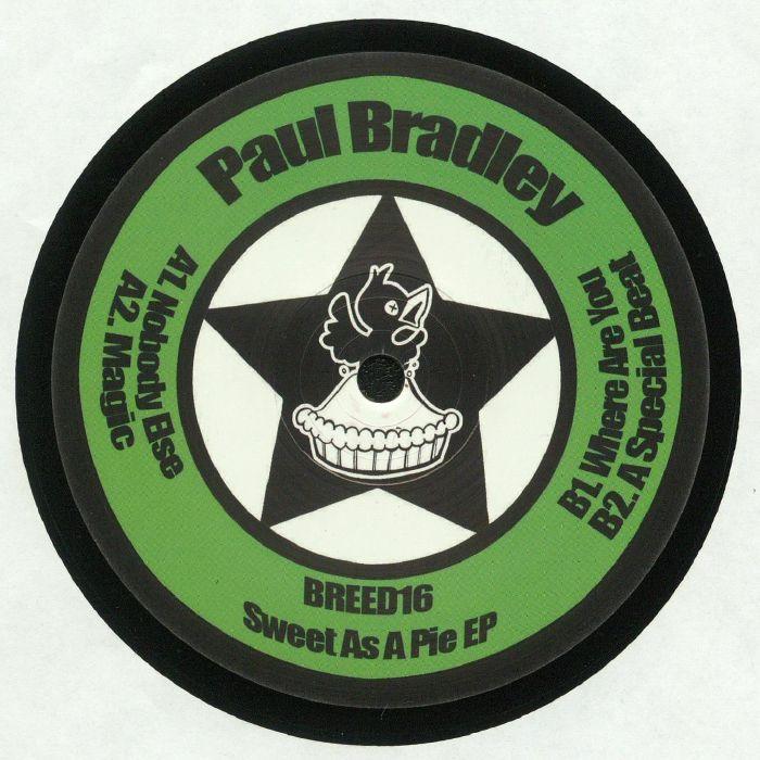 BRADLEY, Paul - Sweet As A Pie EP