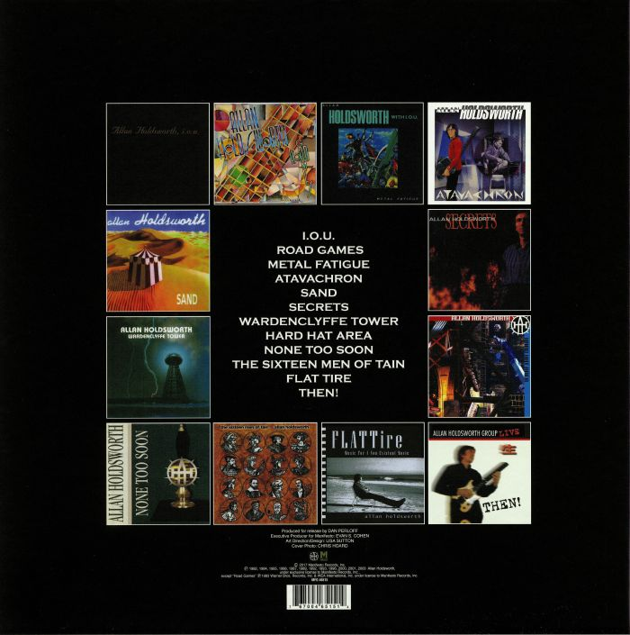HOLDSWORTH, Allan - The Allan Holdsworth Solo Album Collection