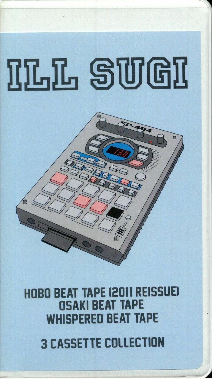 ILL SUGI - Hobo (2011 reissue)/Osaki/Whispered: 3 Cassette Collection