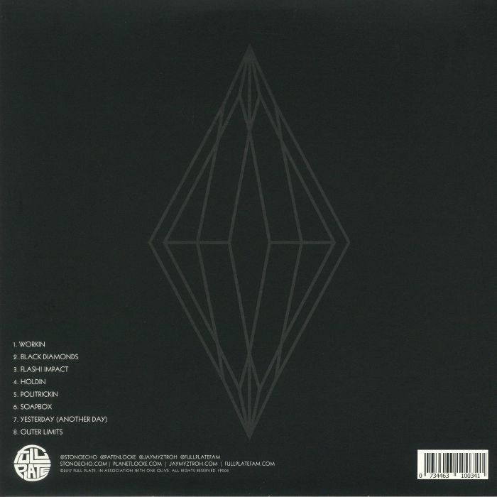 STONO ECHO aka PATEN LOCKE & JAY MYZTROH - Black Diamonds