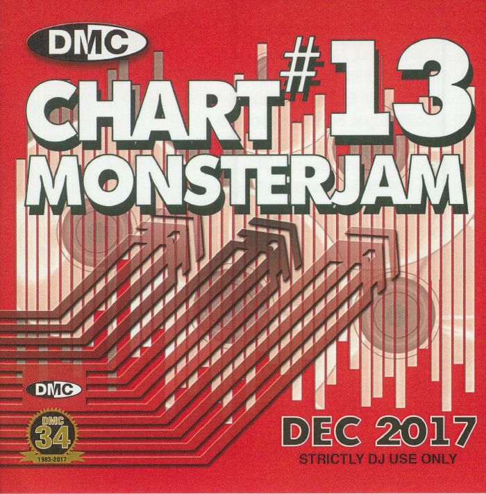 VARIOUS - DMC Chart Monsterjam #13 Dec 2017 (Strictly DJ Only)