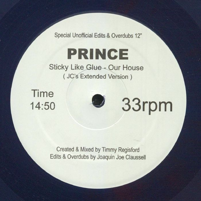 PRINCE - (Sticky Like Glue) The House Is Ours