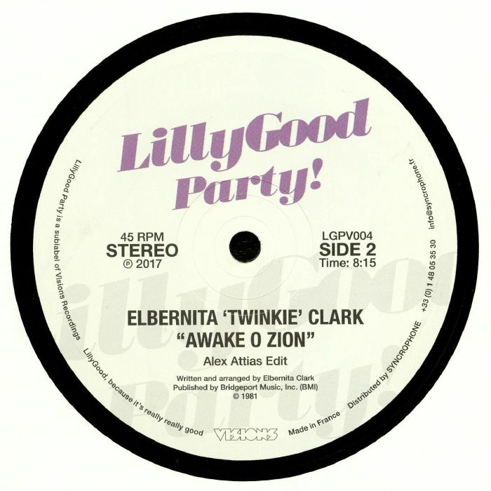 ONWARD INTERNATIONAL/ELBERNITA TWINKIE CLARK - Foot In The Door