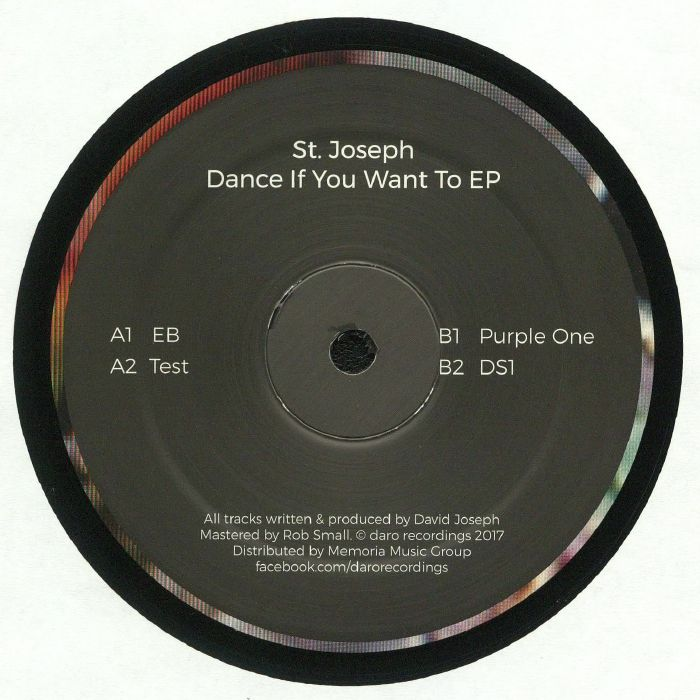 ST JOSEPH - Dance If You Want To EP