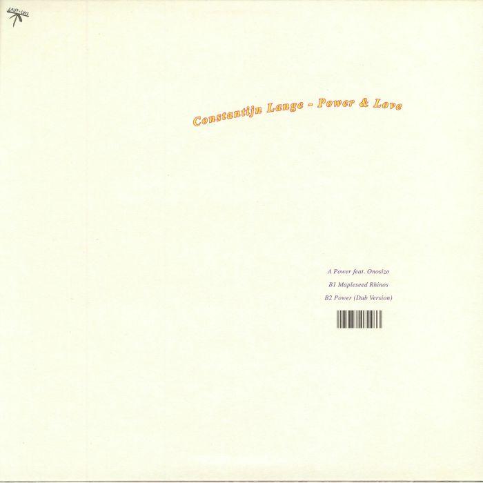 LANGE, Constantijn - Power & Love