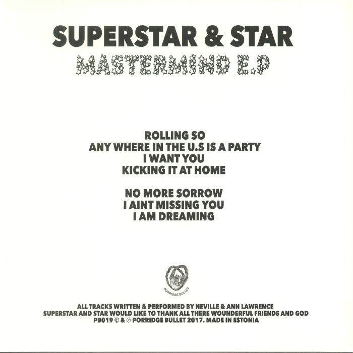SUPERSTAR & STAR - Mastermind EP