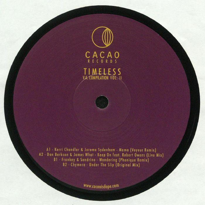 CHANDLER, Kerri/JEROME SYDENHAM/DAN BERKSON/JAMES WHAT/FRANKEY & SANDRINO/CHYMERA - Timeless Vol 2