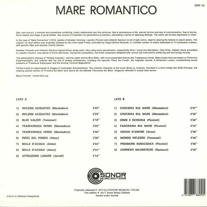 VARIOUS - Mare Romantico