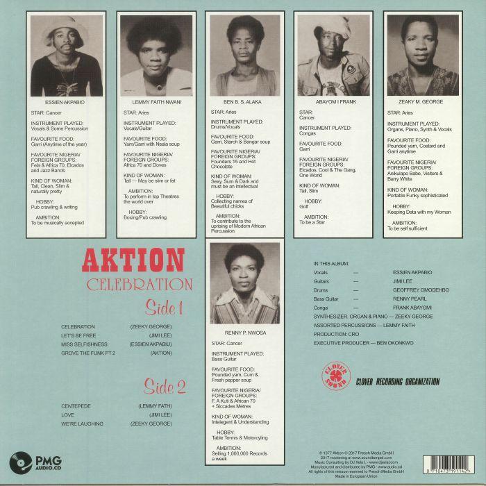 AKTION - Celebration (reissue)