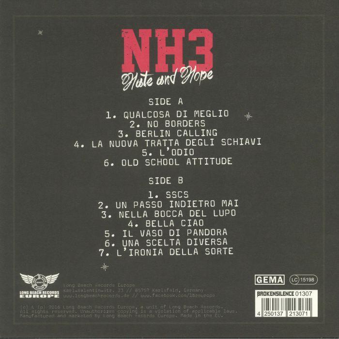 NH3 - Hate & Hope