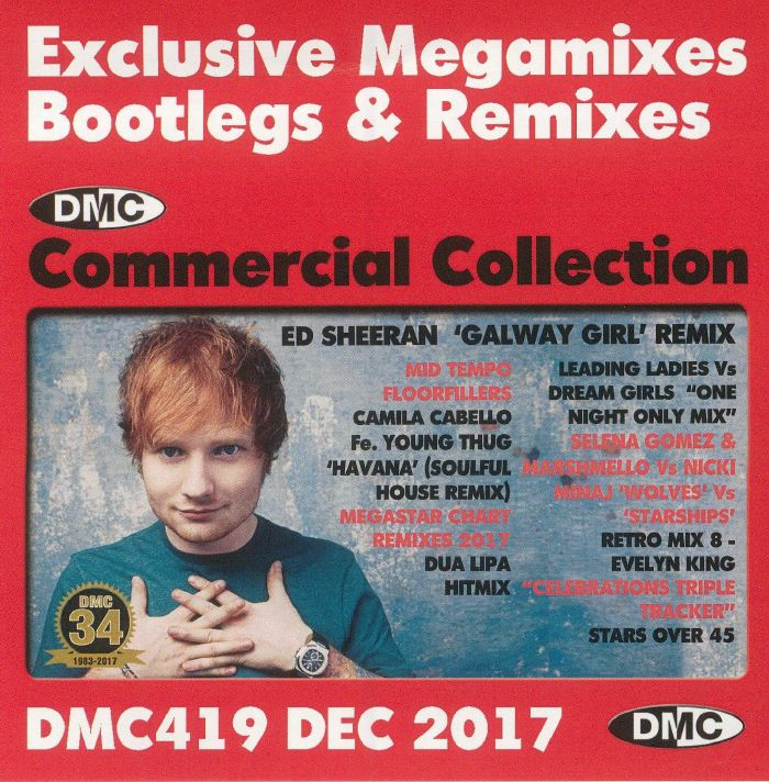VARIOUS - DMC Commercial Collection December 2017: Exclusive Megamixes Bootlegs & Remixes (Strictly DJ Only)