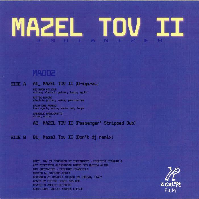 INDIANIZER - Mazel Tov II