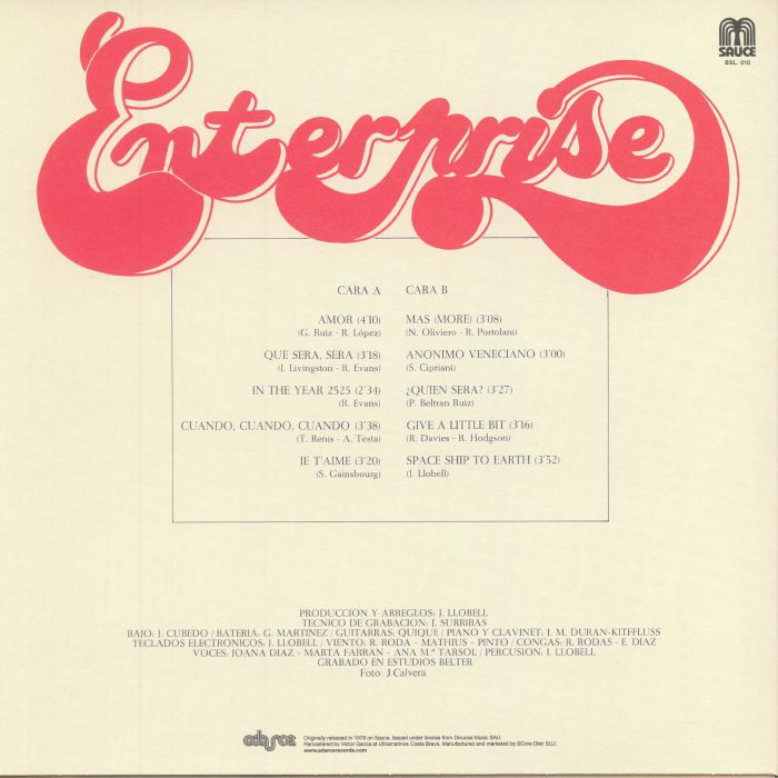 ENTERPRISE - Enterprise 1978 (remastered)
