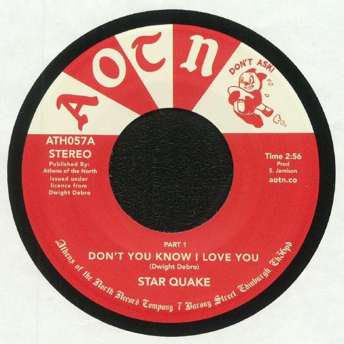 STAR QUAKE - Don't You Know I Love You