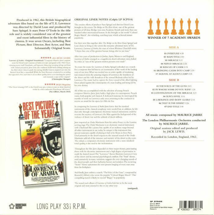 JARRE, Maurice - Lawrence Of Arabia (Soundtrack)