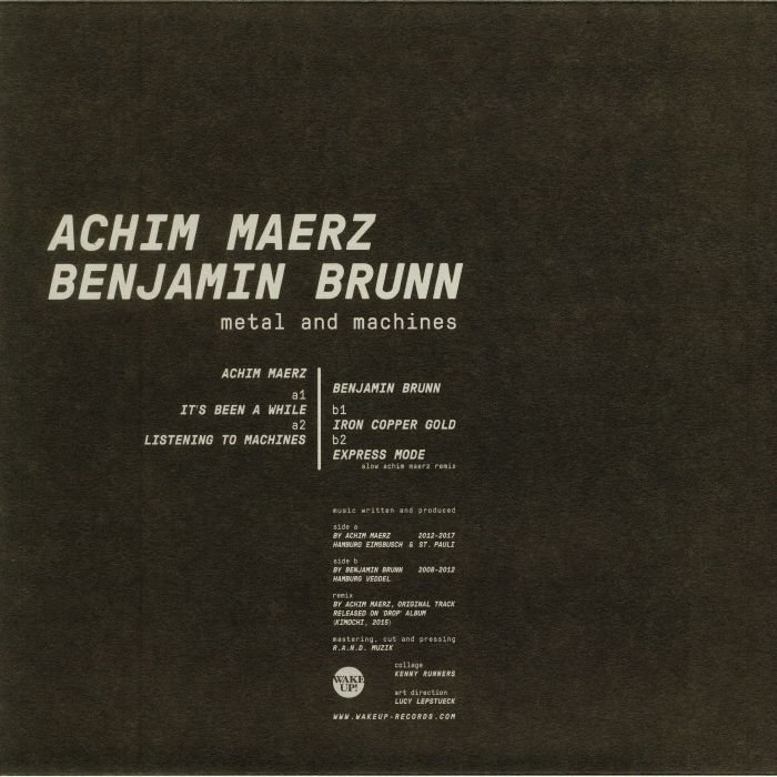 MAERZ, Achim/BENJAMIN BRUNN - Metal & Machines