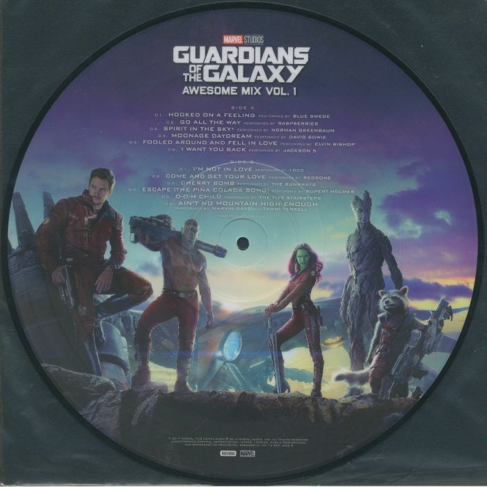 Various Guardians Of The Galaxy Awesome Mix Vol 1