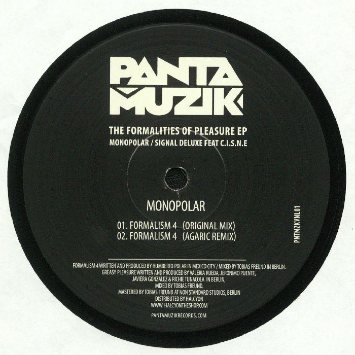MONOPOLAR/SIGNAL DELUXE - The Formalities Of Pleasure EP