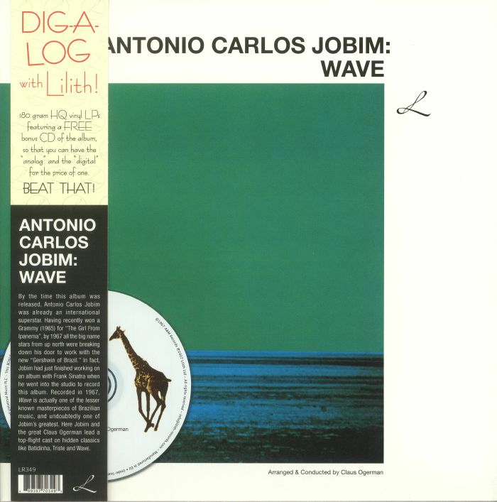 JOBIM, Antonio Carlos - Wave (reissue)