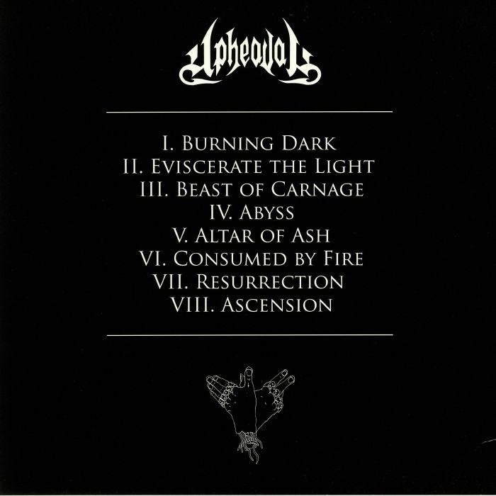 UPHEAVAL - Altar Of Ash
