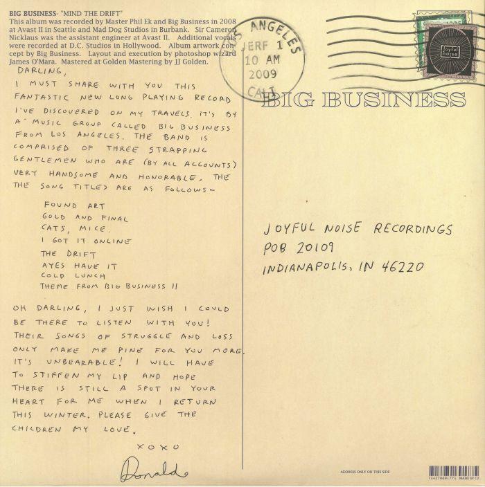BIG BUSINESS - Mind The Drift (reissue)