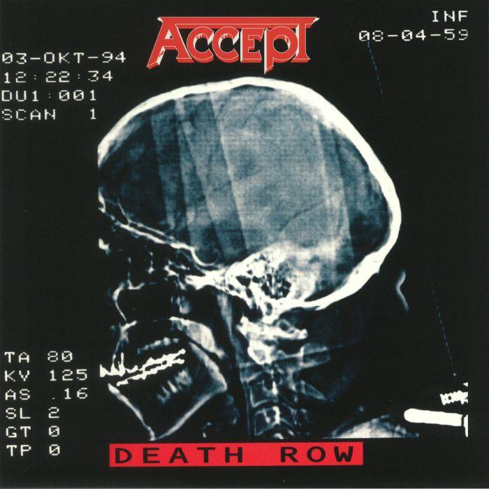 ACCEPT - Death Row (reissue)