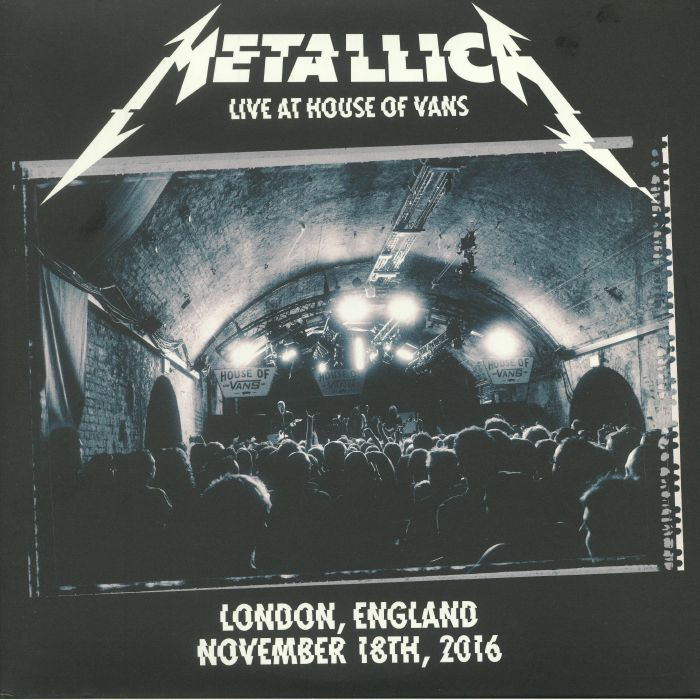 METALLICA - Live At House Of Vans London England November 18th 2016